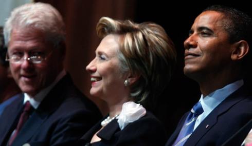 Big Dawg, Hillary and Obama