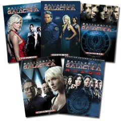 BSG Set Seasons 1-3.5 plus Razor