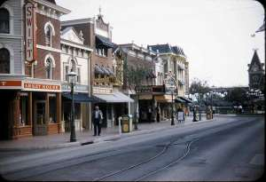 Main St, U.S.A. Disneyland