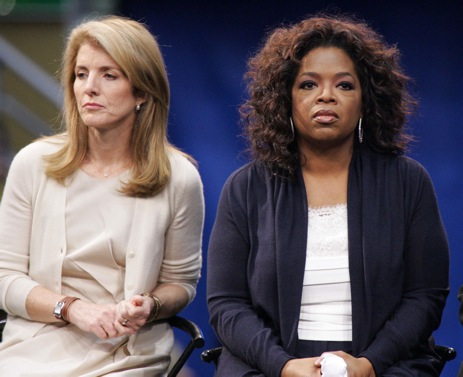 Caroline Kennedy, Oprah Winfrey