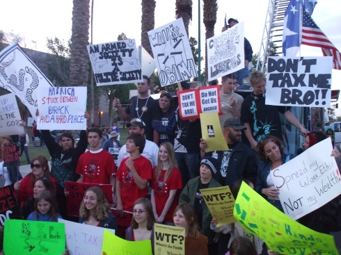 Phoenix Tax Day Tea Party