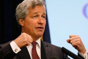 Jamie Dimon, always ready to rumble for the shareholders...